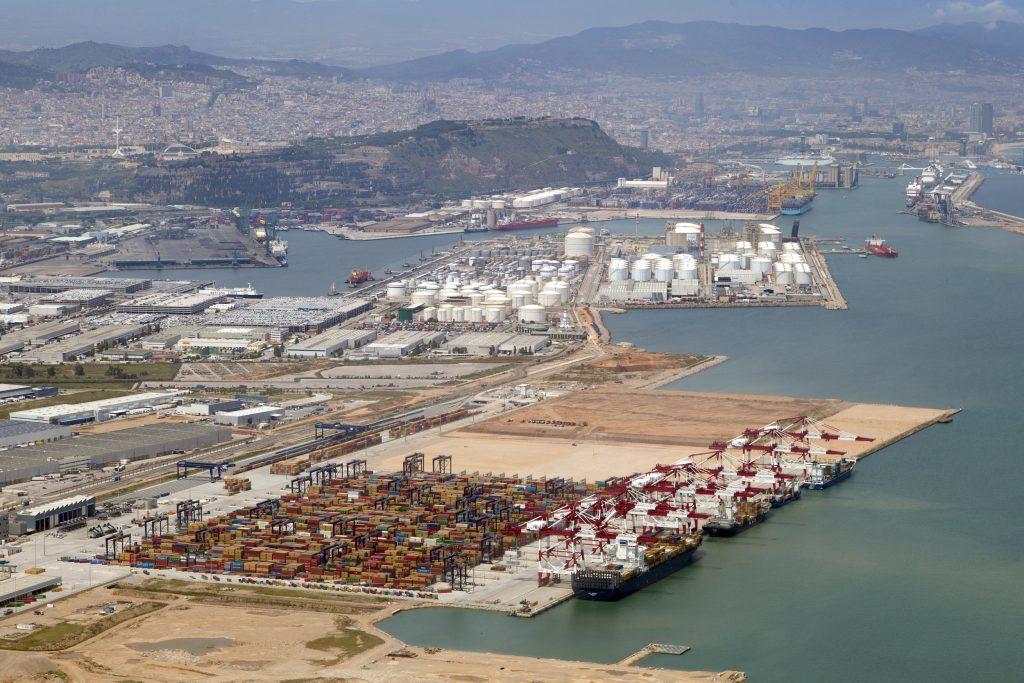 The Port of Barcelona is Spain's number one in terms of the value of the goods handled.