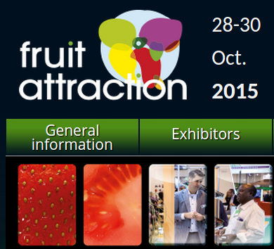 Organisers of this year's Fruit Attraction fair in Madrid aim to attract 1,000 companies and 46,000 professionals from 90 countries.