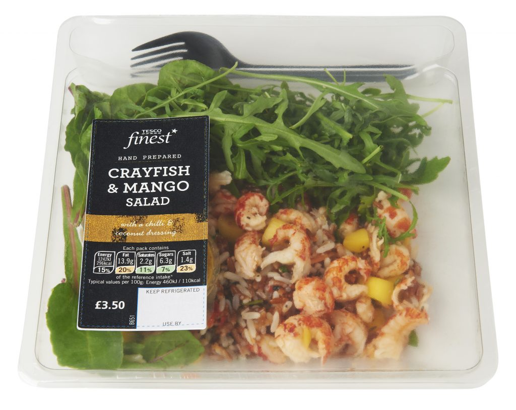 UK retailer Tesco says exotic salads are snaring more of the lunch market