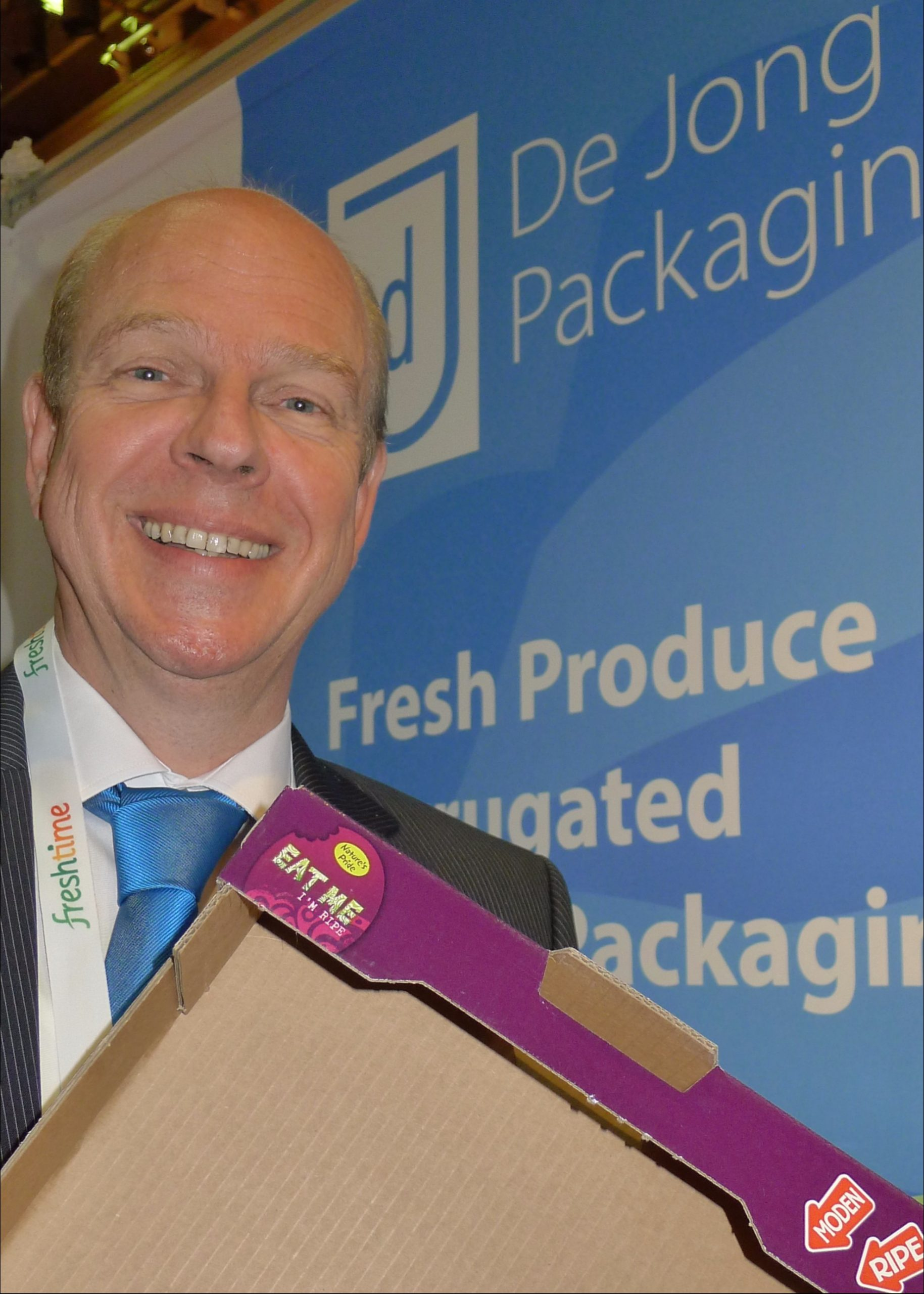 De Jong Packaging has started selling its corrugated packaging in the UK and has big ambitions there.