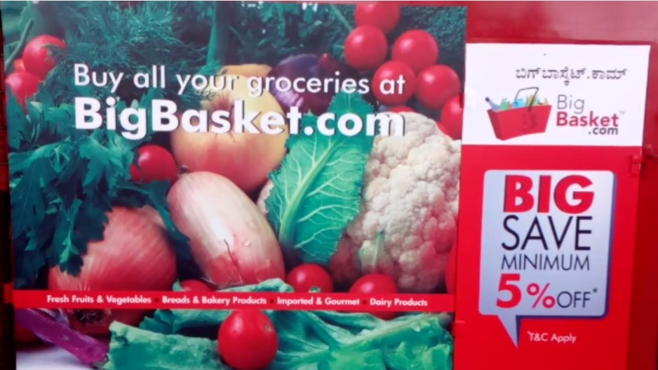 Big Basket is currently India's biggest online grocery player, clocking an average 12,000 orders a day – 70% of which include fruit and vegetables – and sales growing 10-15% month on month.