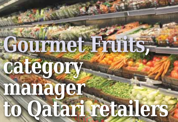 Gourmet Fruits is growing twice as fast as the market with comprehensive farm-to-fork services, the widest range and punctual deliveries.