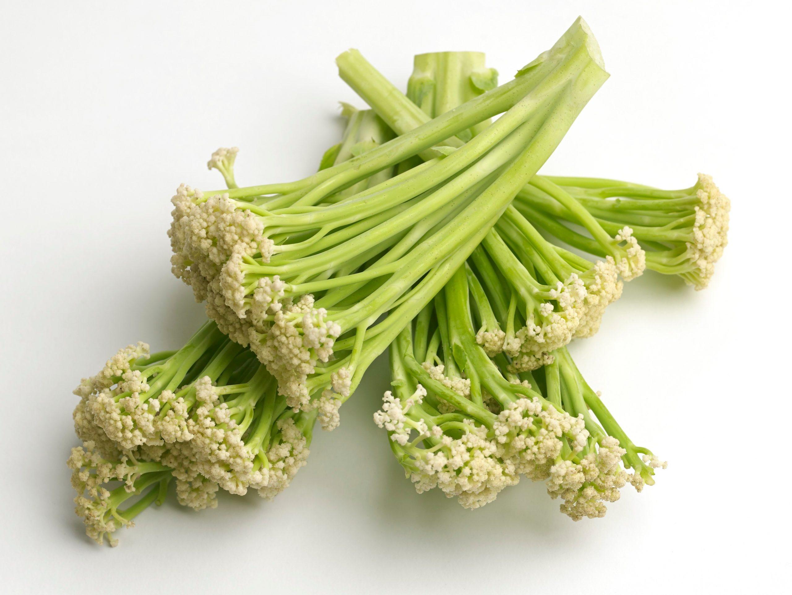 In hopes of widening cauliflower'sappeal, UK supermarket chainWaitrose has introduceda new, versatilelong stemmed version calledSweet Sprouting Cauliflower.