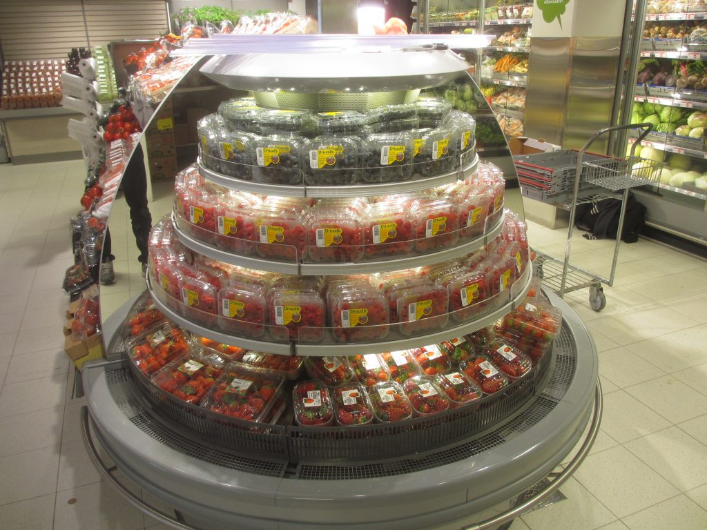 Scandinavian retailers are the frontrunners of the European berry market, as their fresh produce departments are responsible for no less than 13% of the total supermarket sales.