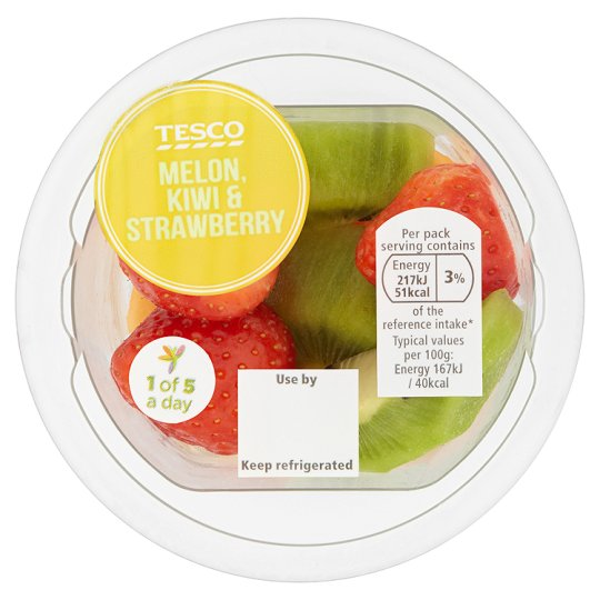 Two new snack offerings in the fresh fruit and vegetable range at Tesco.