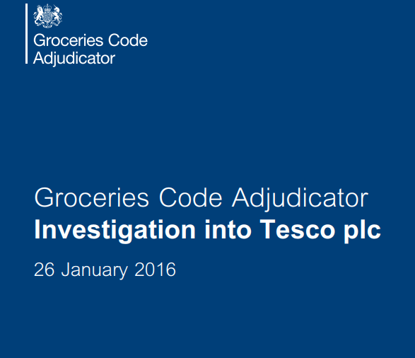 Groceries Code Adjudicator (GCA) Christine Tacon has told Tesco to introduce significant changes to its practices and systems.