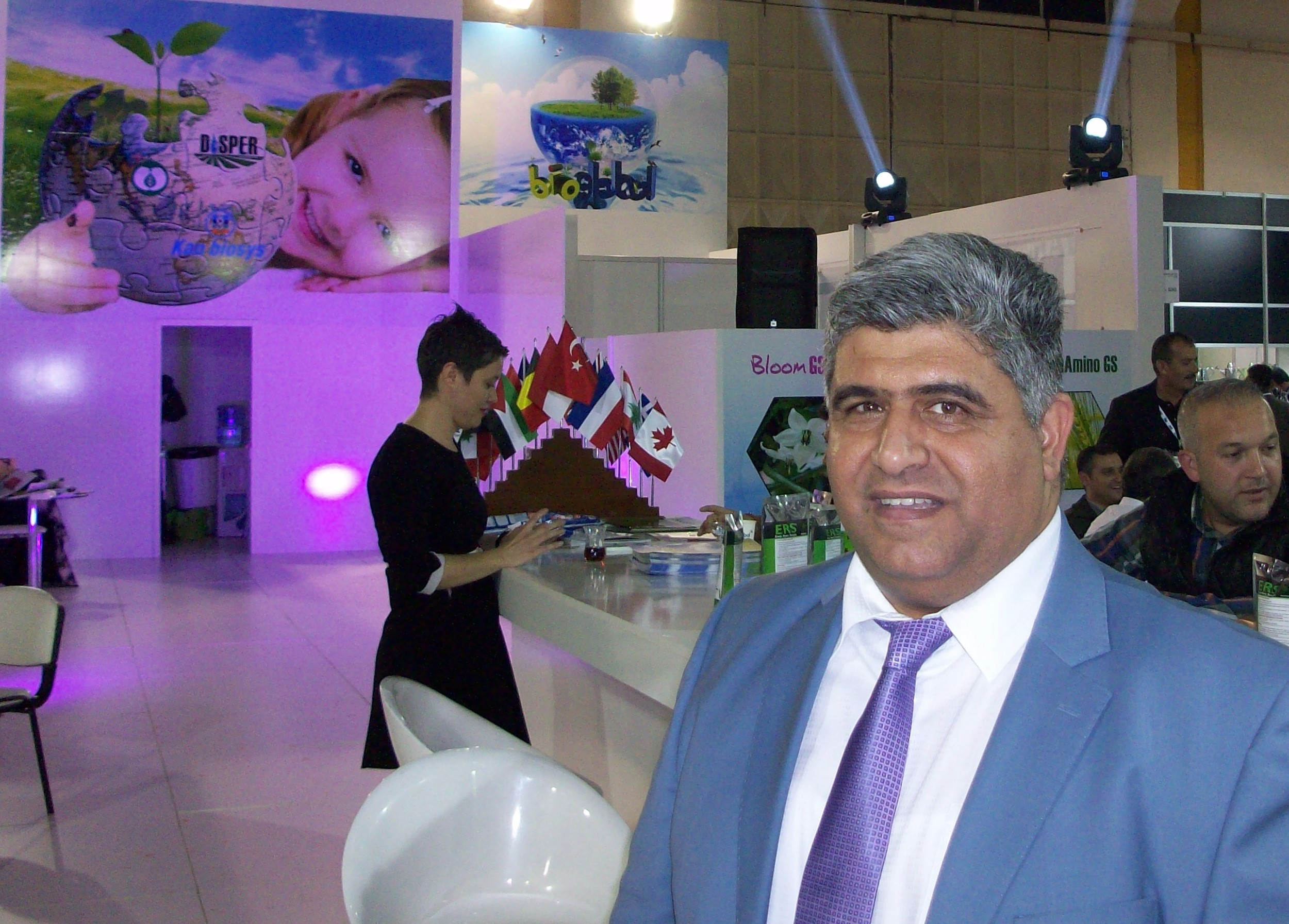 Turkish company Bioglobal manufactures microbial fertilisers and plant protection bioproducts. Containing minerals and vegetables extracts, they are ecologically friendly.