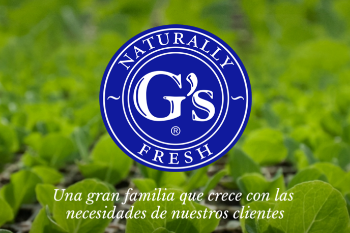 """Grupo G's Spain, one of the leading companies in the production and marketing of a wide range of top quality leafy greens, vegetables and fresh fruit, is launching a new image through its packaging: """"G's – Naturally Fresh®""""."""