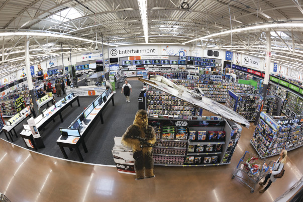 Walmart says its revamp of a supercenter in Arkansas put put berries — a growing category — in the front of its Fresh department, while bananas, already a huge draw, are near the back to help lead customers through.