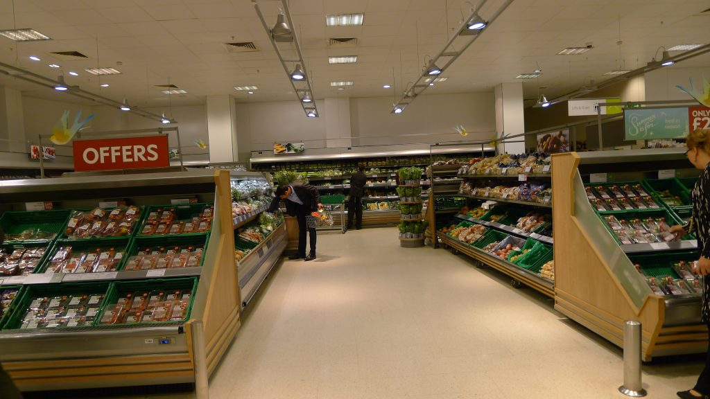 New Year health kicks contributed to a strong performance across fresh foods & helped British grocery market return to slow growth.