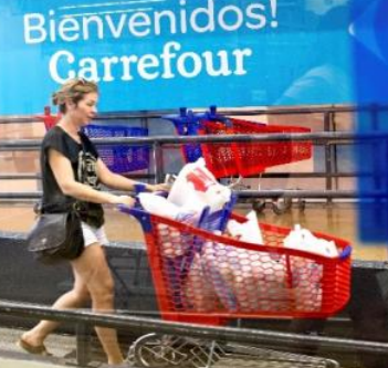Carrefour reports Increase in net sales: €76.9bn, +3.0% on an organic basis.
