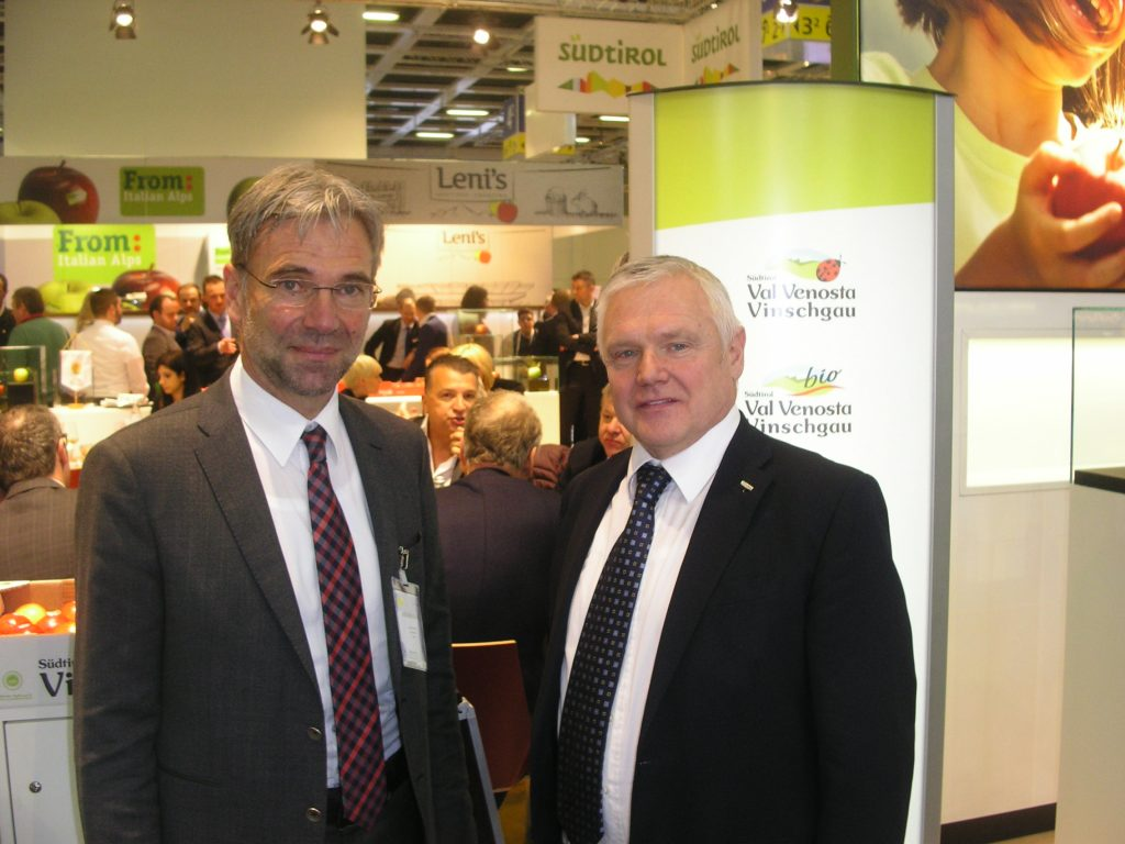 Technology in service of quality: this is the great innovation that VI.P, the Association of Fruit and Vegetable Cooperatives of Val Venosta, presented at Fruit Logistica 2016 in Berlin.