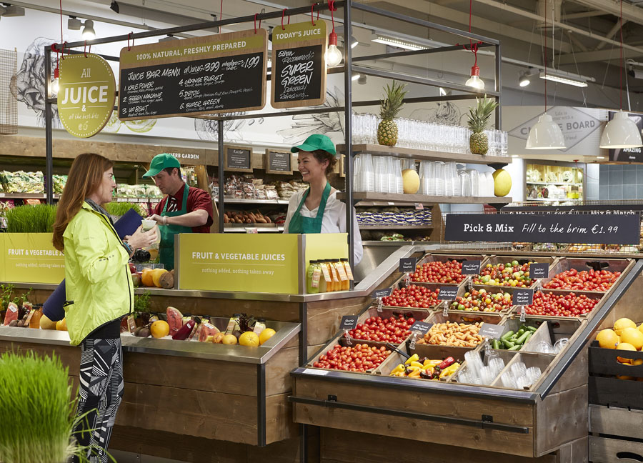 Ireland's Musgrave Group recently won the A.R.E. gold design award for Best Supermarket, for its flagship SuperValu store, in Blackrock, Dublin, and another for Best Convenience Store, for its Centra store in O'Connell Street, Limerick.