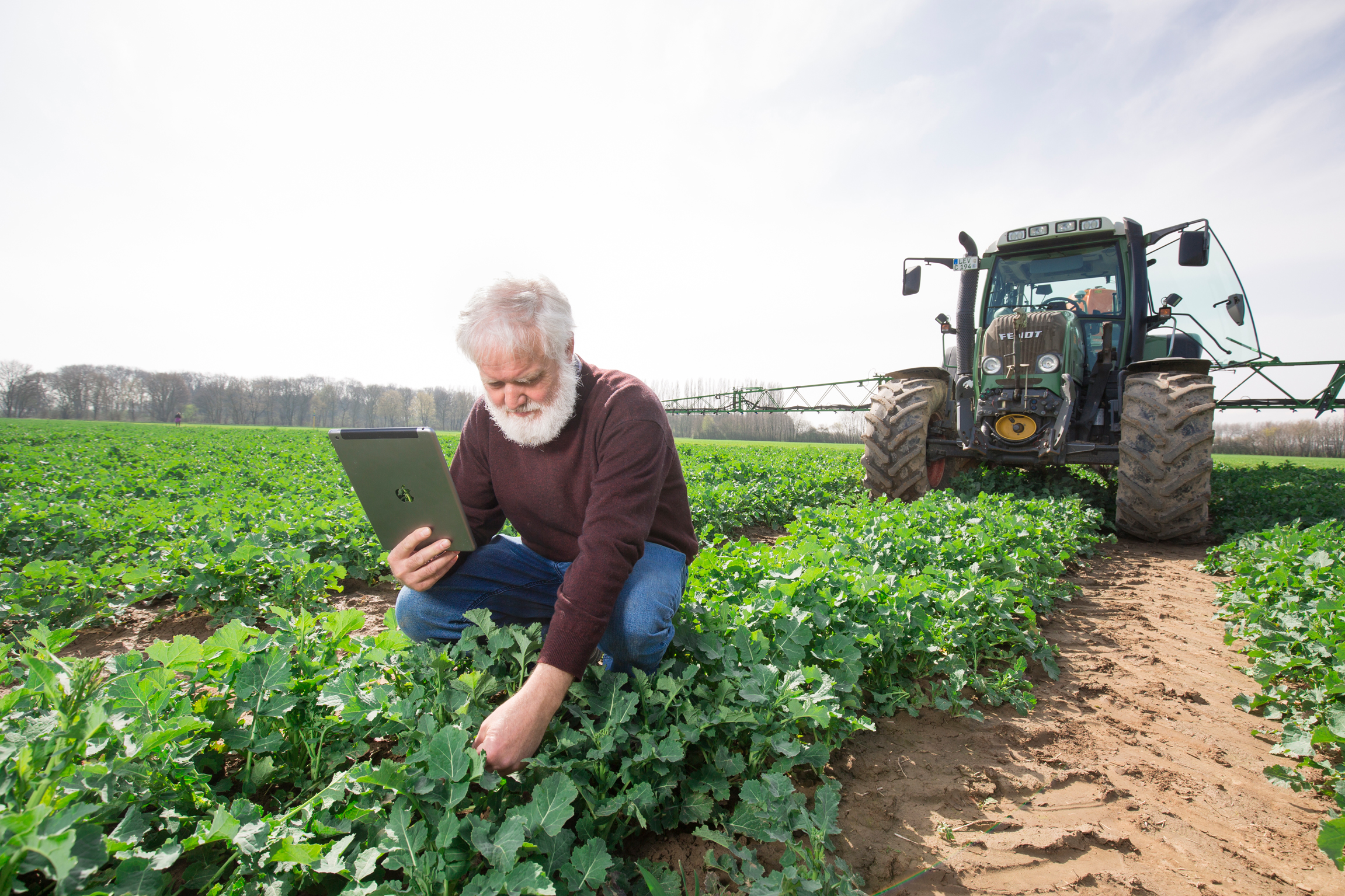 Bayer and Hamburg University working together to develop new digital solutions for sustainable agriculture.