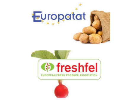 Europatat is the European Potato Trade Association, representing the interests of the seed and ware potato traders in Europe, and Freshfel Europe is the European Fresh Produce Association, representing the interests of the fresh fruit and vegetable supply chain in Europe and beyond.