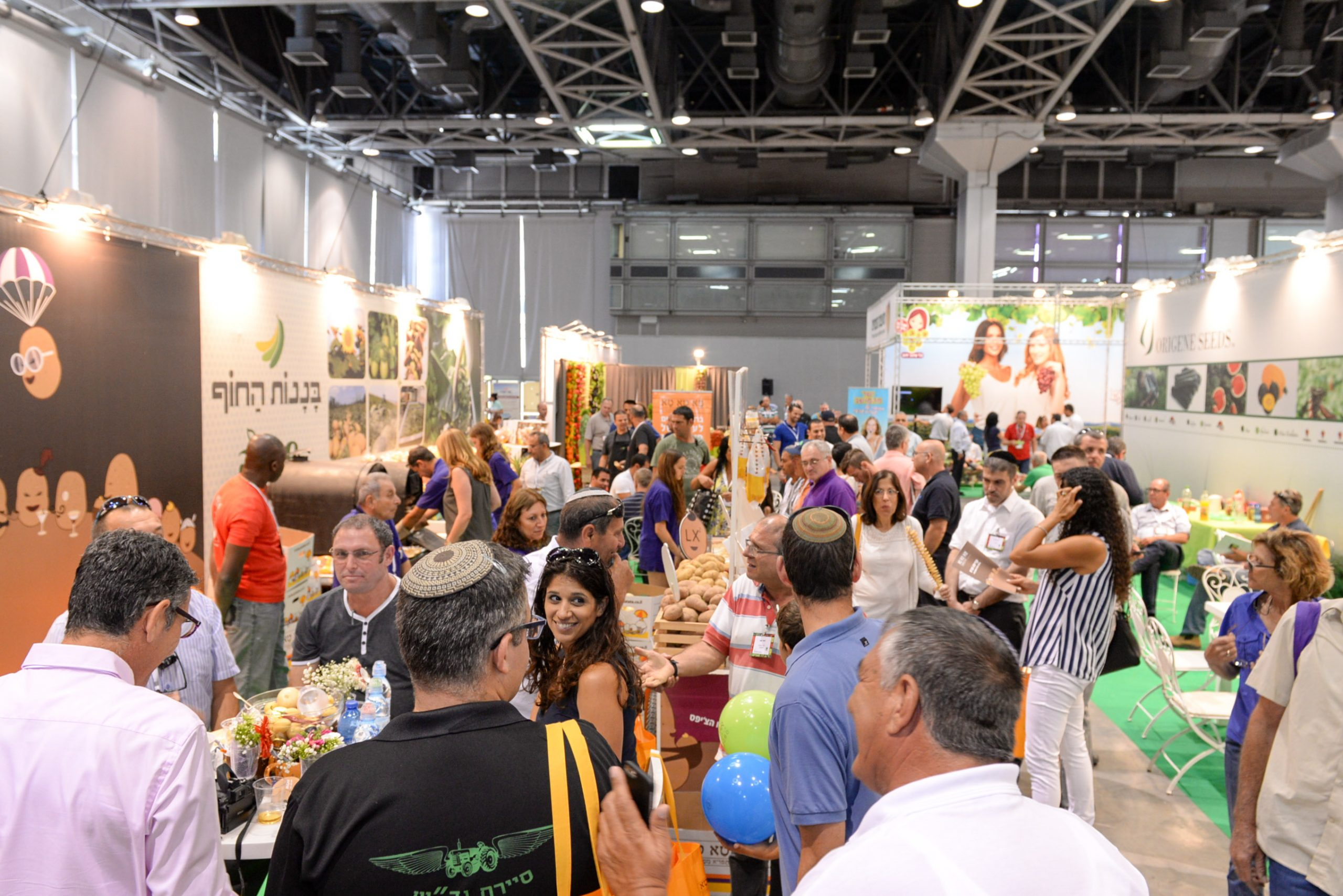 Fresh AgroMashov, Israel, is an international exhibition attracting the world's leading players in the marketing of fresh agricultural produce.