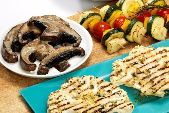 Cauliflower steaks and portobello mushroom burgers are already very popular in trendy restaurants around the country and in recipes from celebrity chefs such as Jamie Oliver but this is the first time they've ever been available in high street supermarkets.