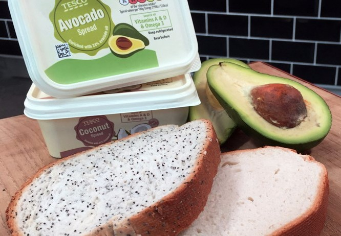 Avocados recently overtook sales of orangesin the UK,says supermarket chain Tesco, which has launched a new avocado spread.
