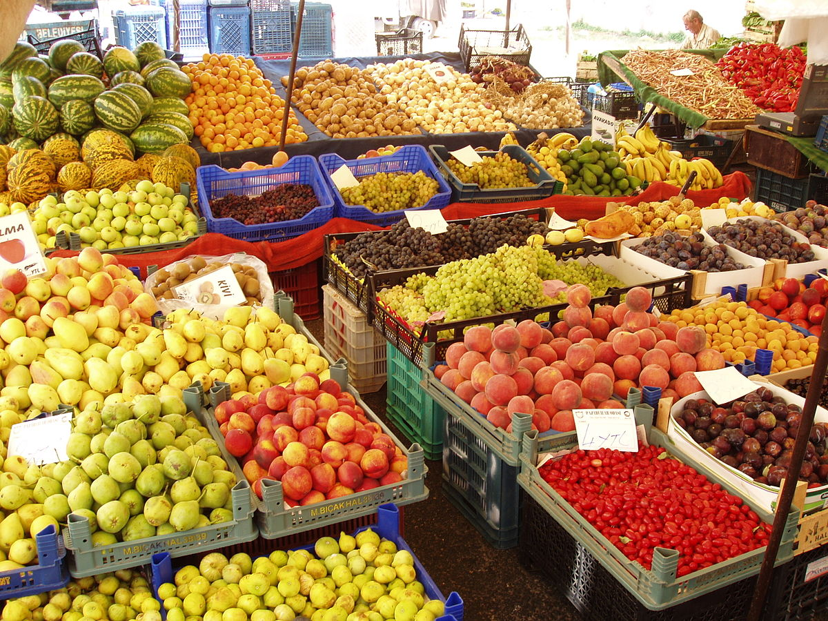 Turkey's 2016 fruit crop is expected to be up 6.4% on last year, to 18.9 million tons, and its vegetables crop up 1.7% to 30.1 million tons, according to forecasts by the Turkish Statistical Institute.