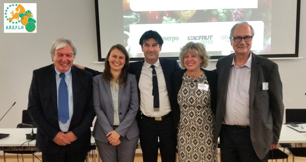 At the AREFLH General Assembly on June 22 in Brussels, Simona Caselli, Councillor of Agriculture for the Emilia-Romagna region, was elected president, succeeding Meritxell Serret i Aleu, Minister of Agriculture in the government of Catalonia.