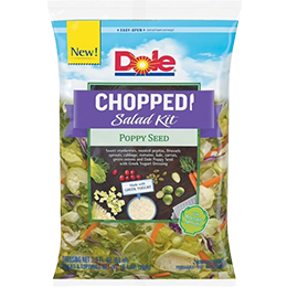 Dole Chopped Salad Kits has been chosen from among nearly 3,500 consumer products for a Nielsen Breakthrough Innovation Award for 2016.