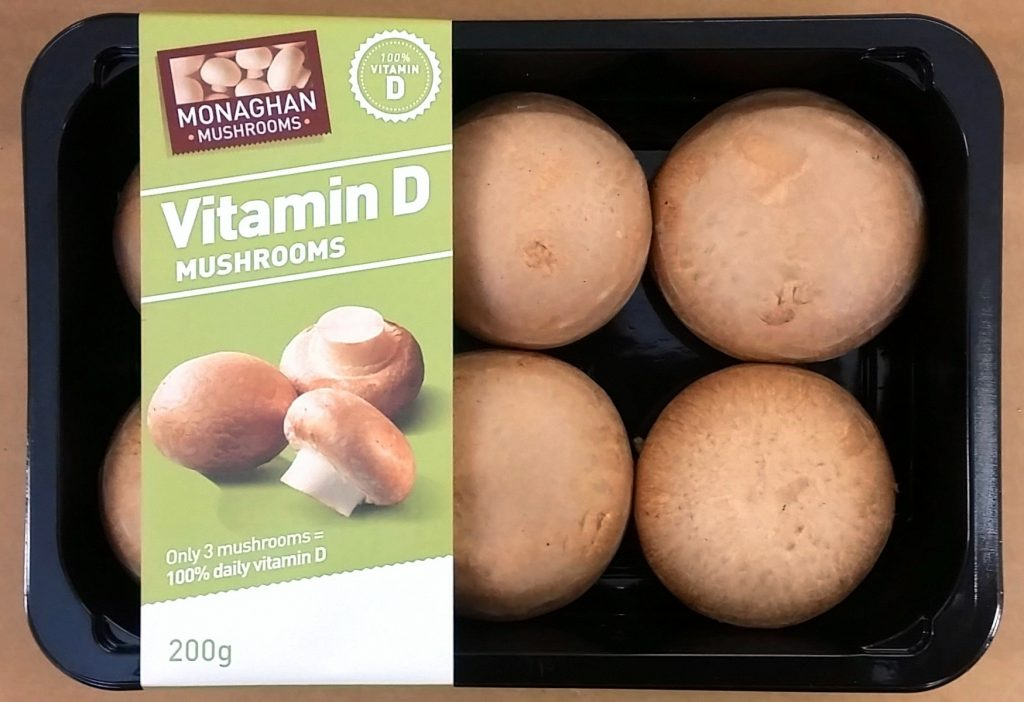 Experts say access to dietary vitamin D is crucial In sunlight-starved regions, yet very few foods are naturally rich in this vitamin, which among other things is needed for strong bones and teeth, and even heart health. Wild mushrooms can be a good source of vitamin D2 but until recently their commercial cousins – usually grown and sold indoors – were not.