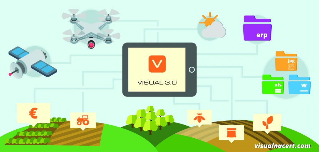 Visual 3.0 is the first platform developed with geolocation technology, connection and analysis of 'big data'. It allows for planning, forecasting and monitoring the progress of harvesting while promoting food security, quality and productivity.