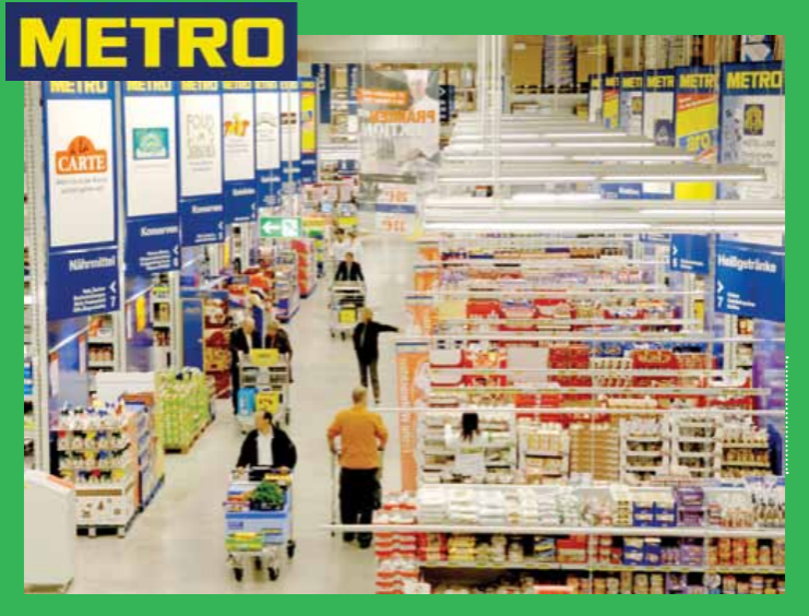 The sourcing for Metro Cash & Carry is both centralised and local, with trading offices operating at various locations