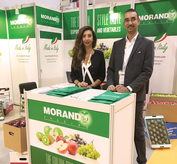 A privileged sales relationship with overseas markets is the unique quality of Morando Trading SRL, a fruit and vegetable exportation company from the Verona area.