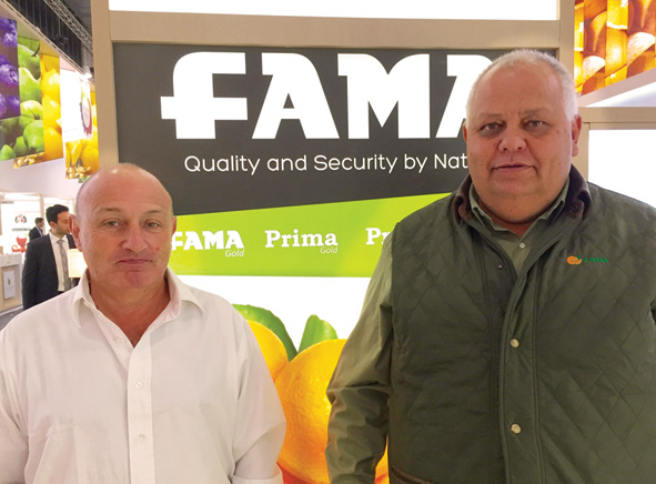 Fama has  7,000 ha of citrus farms in the provinces of Entre Rios and Corrientes, with 50% oranges and 50% mandarins.