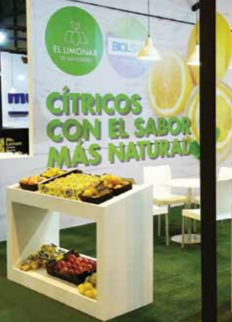 El Limonar currently sells about 4,000 tons of organic citrus a year but aims to reachbetween 8,000-10,000 tons within five years.