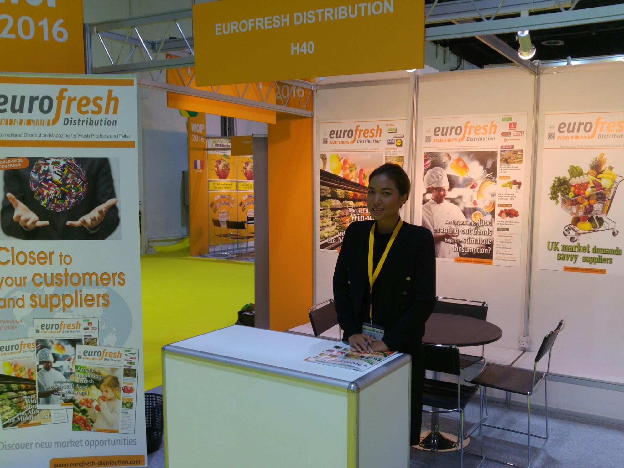 Visit Eurofresh Distribution at WOP Dubai today and tomorrow