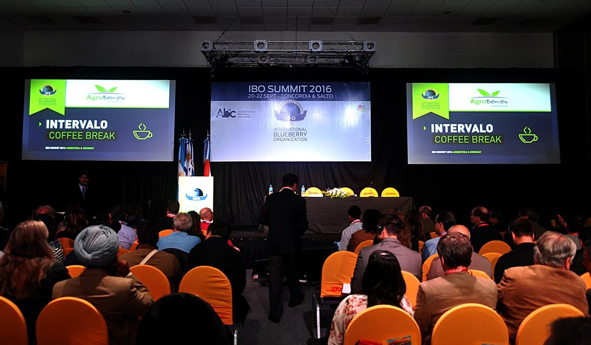 New IBO president Peter McPherson said the next International Blueberry Organization (IBO) Summit will take place in China.