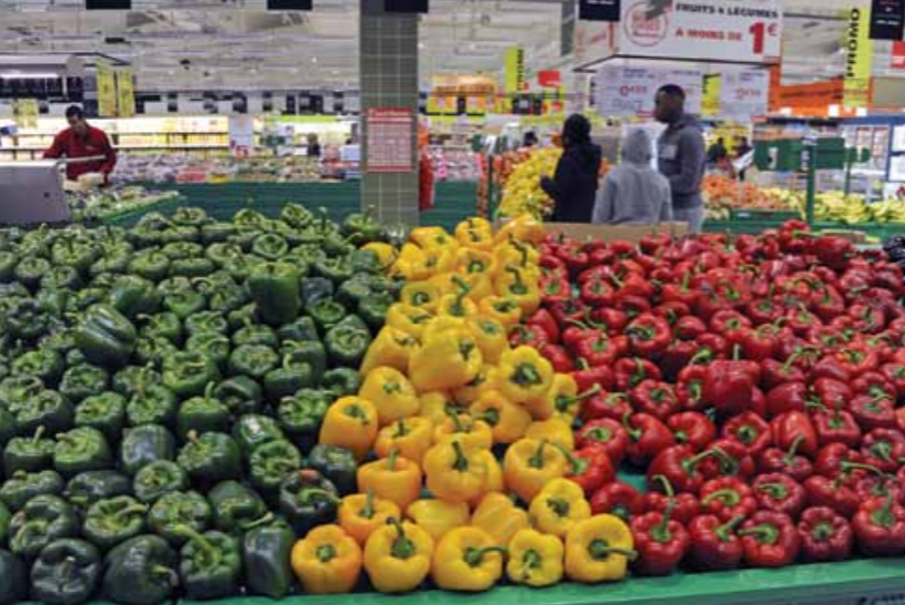 Exports play a decisive role for the French fruit sector, accounting for 46% of production.