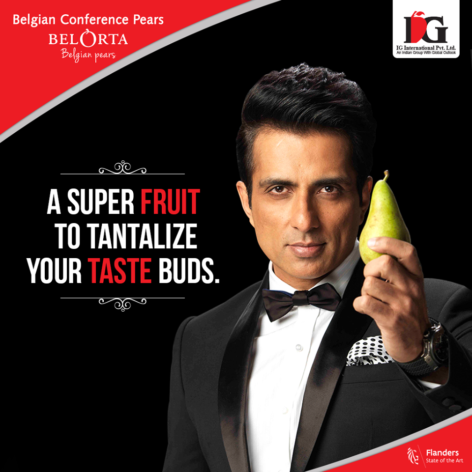 Indian fruit lovers can find a new pear from Belgium in their fruit & vegetables stores.