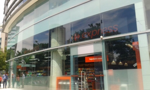 Located in the upmarket district of Brooklin in Brazilian capital Sao Paulo, the new outlet is of the Carrefour Express format.