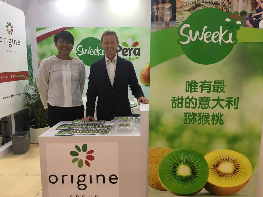 The Italian kiwi sector is showing a commitment to quality and a partnership of its leading forces in order to conquer Asian markets. This is why the Origine Group was formed, uniting nine of the largest Italian producers.