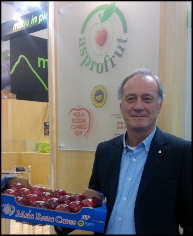 The new marketing strategy of Asprofrut aims to raise the international profile of one of the leading PGIs of the Italian apple sector, the red apple of Cuneo, Piedmont.