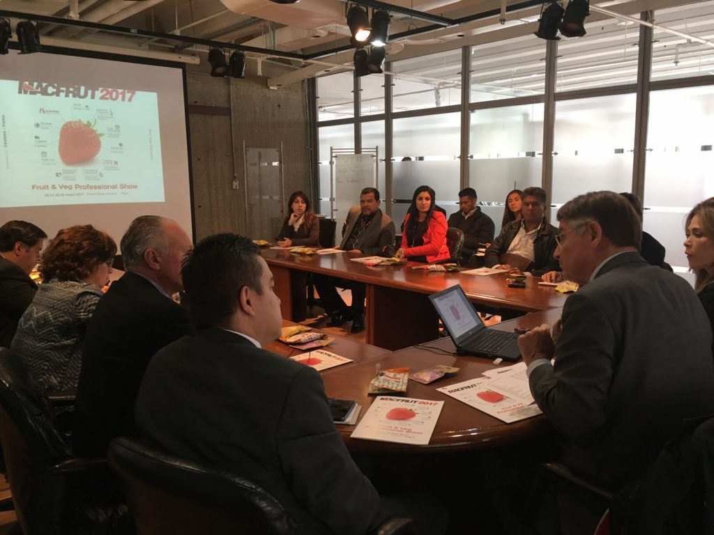 Macfrut is strengthening its cooperation with Colombia. Colombian traders are particularly interested in the technologies.
