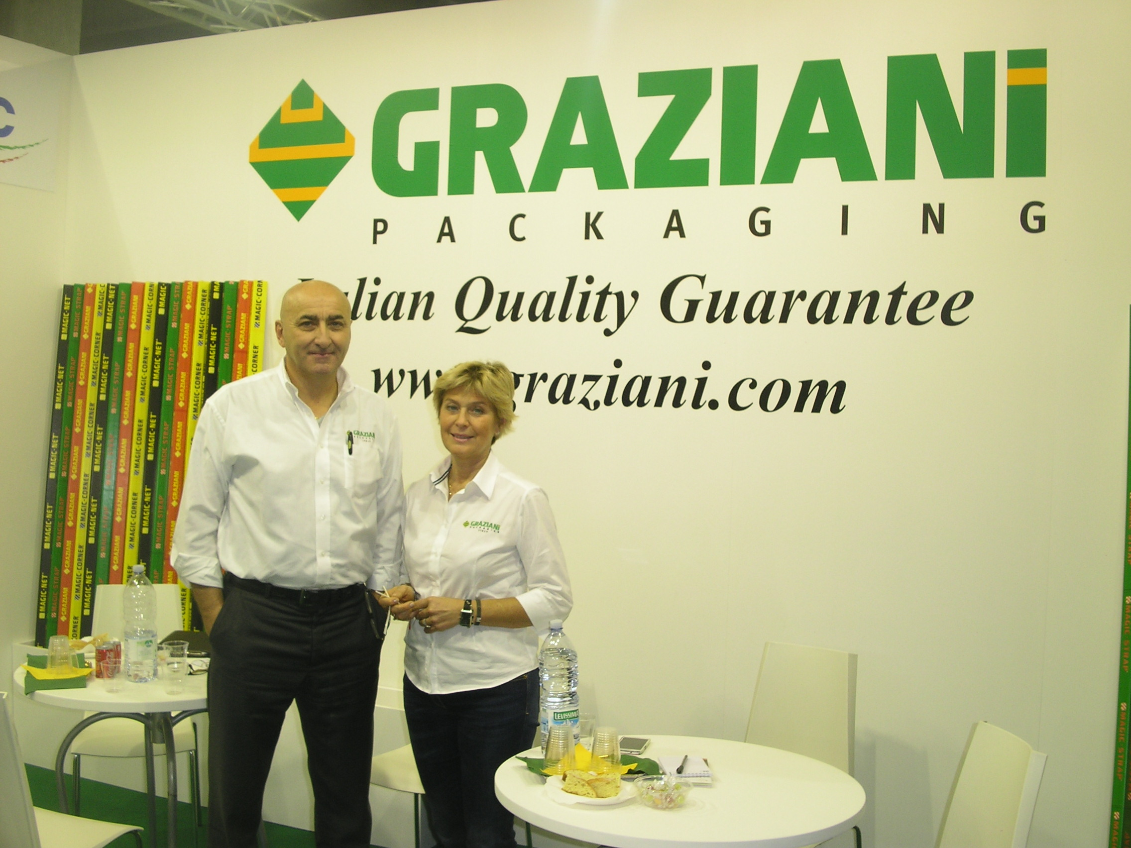 Graziani-packagingpresents the MagicCornerX-TOP corner board for the very first time in Italy