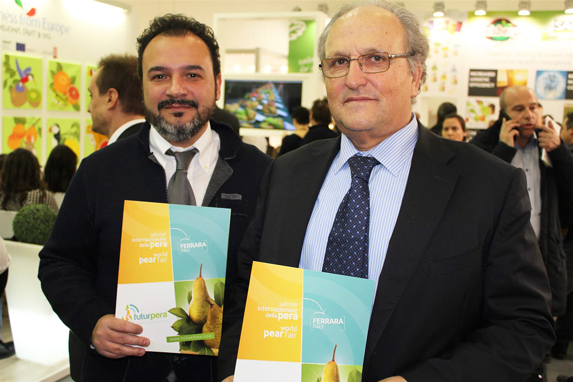 Ferrara's specialised trade fair will be a crossroads for promoting Italian pears on foreign markets
