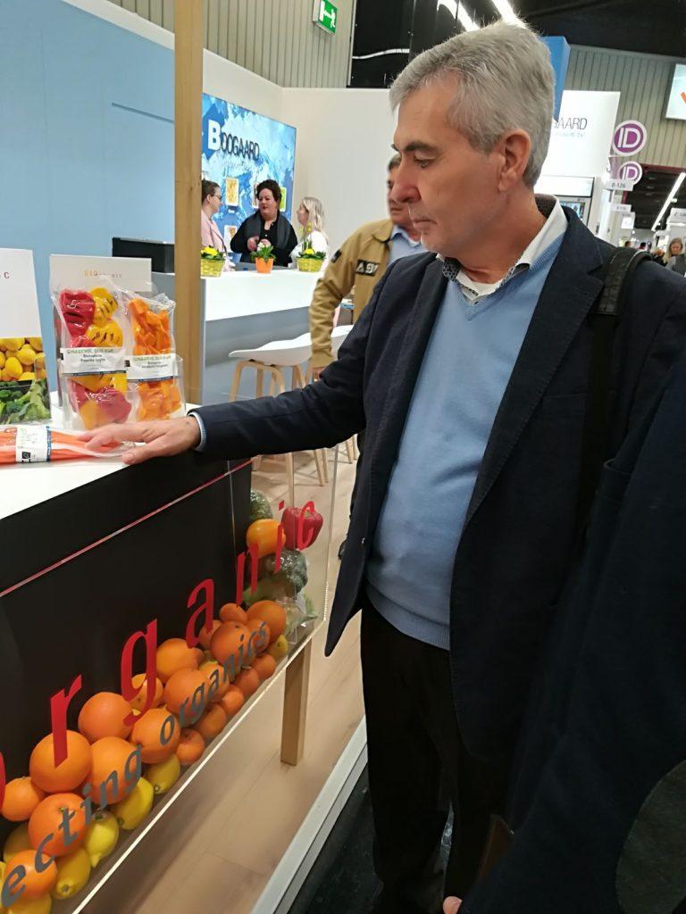 Miguel Vargas en Biofach