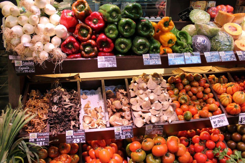 verduras francia