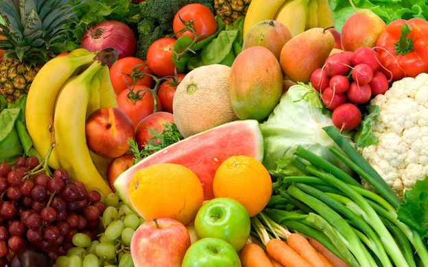 frutas y verudras who