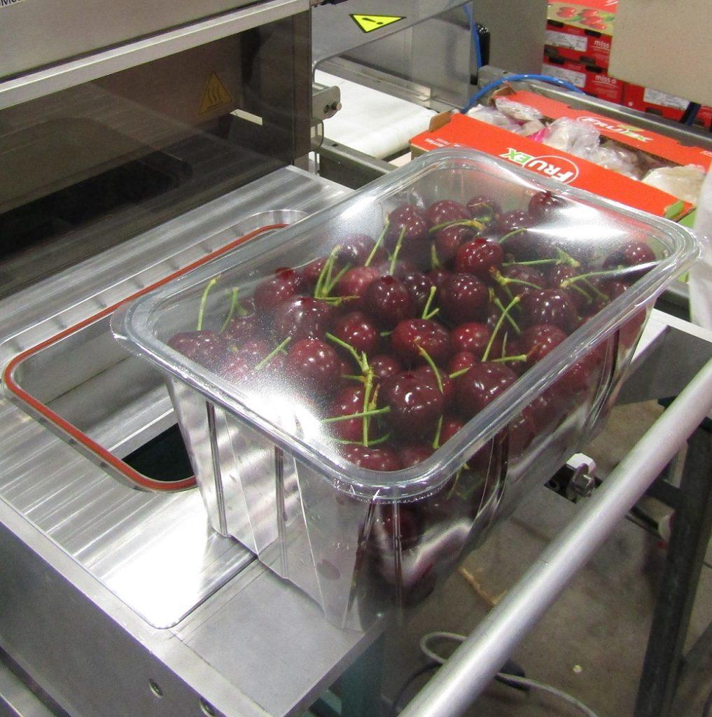 Cherries packaging