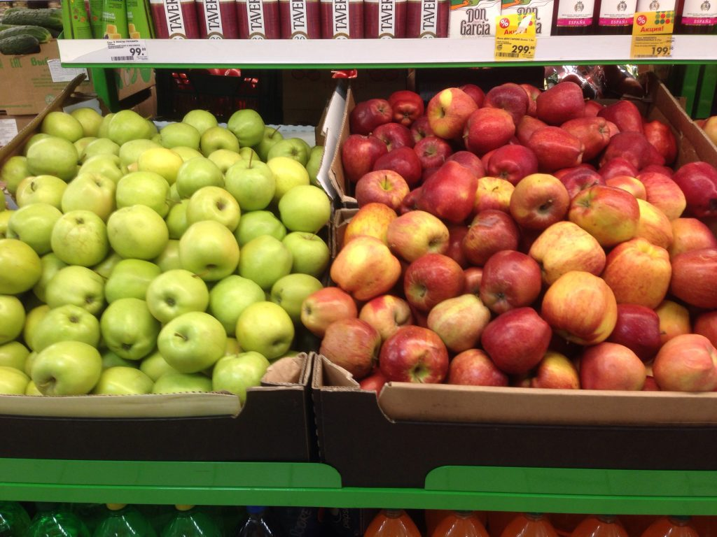apples russia