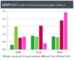 European apple imports forecast to rocket over next decade