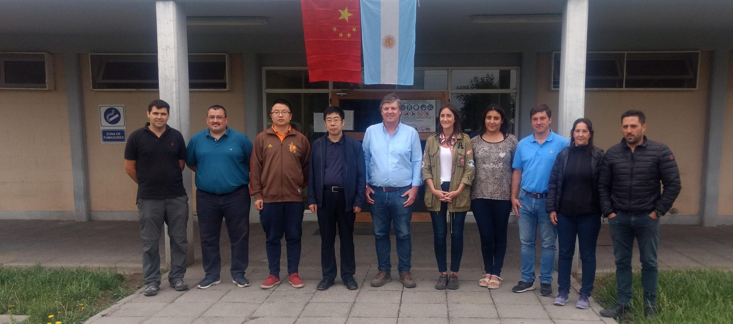 Argentine cherries land in China