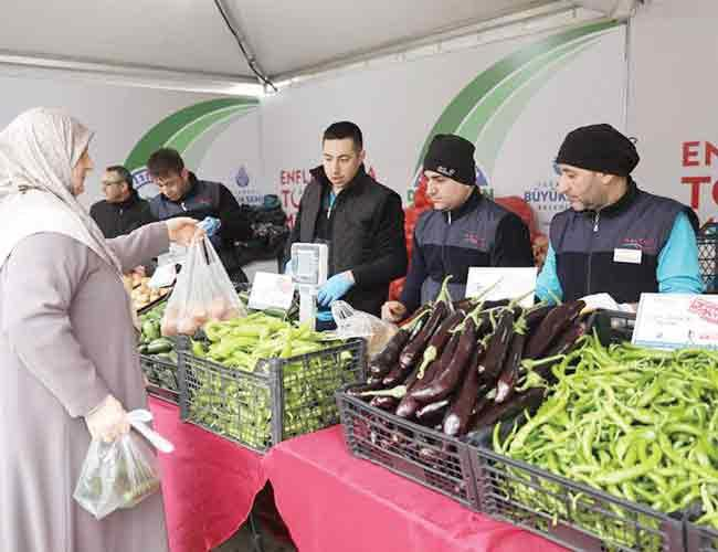 Turkey's municipalities to sell fruit and vegetables