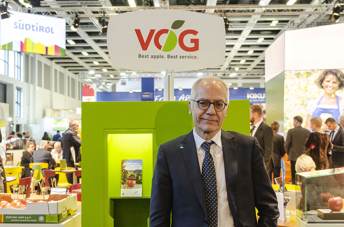 VOG partners with Sustainapple, the South Tyrolean apple consortium´s sustainability strategy